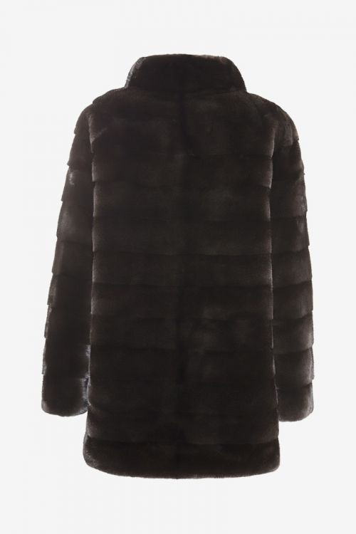 Mink Coat Black