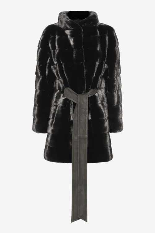 Jade Black Coat